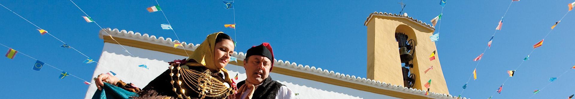Tradición, folklore, artesanía y bailes en ibiza