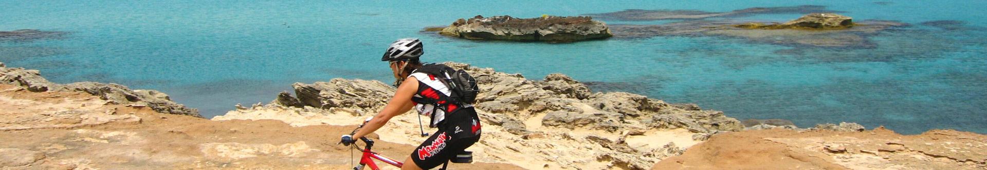 Bici en Ibiza