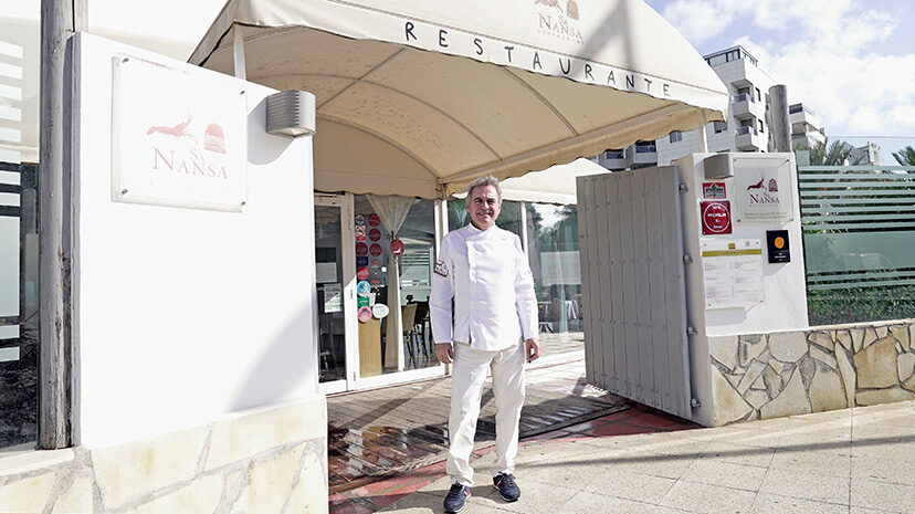 Pedro Tur Planells, chef ibicenco de Sa Nansa